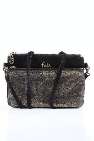 fab Borsetta mini nero-argento stile casual