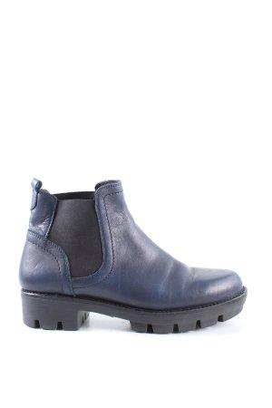 Fabbrica Morichetti Chelsea Boot bleu style décontracté