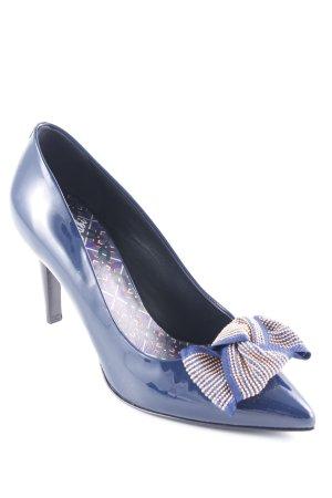 Fabi High Heels dunkelblau Elegant