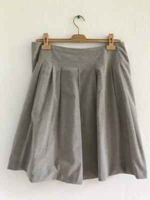 Fabiana Filippi Plaid Skirt silver-colored cotton