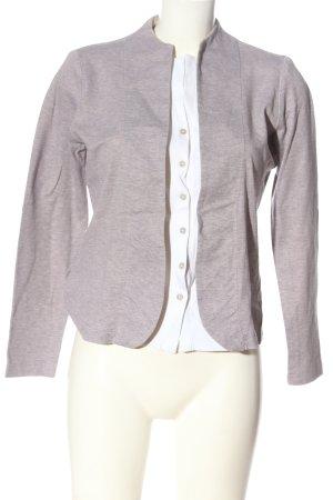 Fabiana Filippi Cardigan grigio chiaro-bianco puntinato stile casual