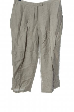 Fabiana Filippi Lniane spodnie jasnoszary W stylu casual