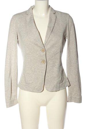 Fabiana Filippi Sweat Blazer light grey-cream flecked business style