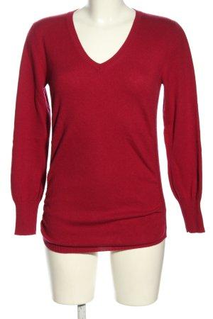 Fabiana Filippi V-Ausschnitt-Pullover pink Casual-Look