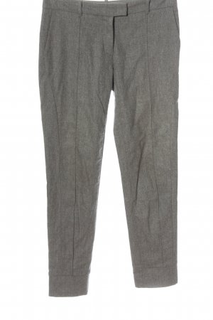 Fabiana Filippi Pantalon en laine gris clair moucheté style d'affaires