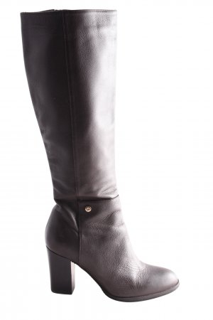 Fabiani High Heel Stiefel schwarz Casual-Look