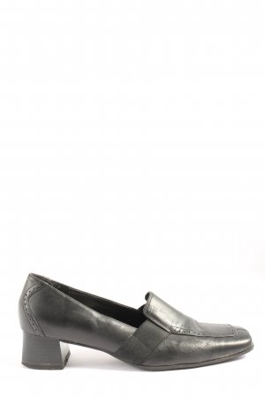 Fabiani High-Front Pumps black simple style