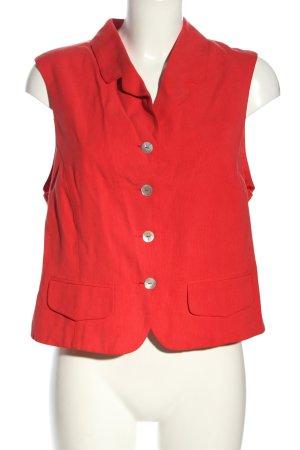 Fabiani Korte blazer rood casual uitstraling