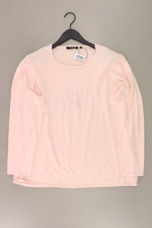 Fabiani Długi sweter stary róż-różany-jasny różowy-różowy