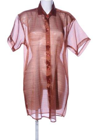 Fabiani Oversized Bluse braun-bronzefarben Casual-Look