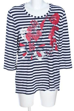 Fabiani Stripe Shirt allover print casual look