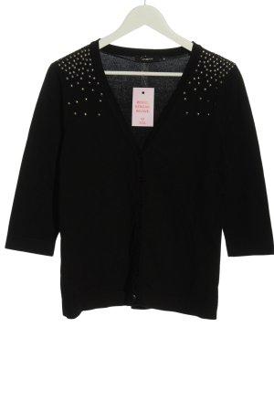 Fabiani Knitted Cardigan black casual look