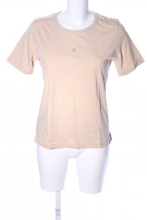 Fabiani T-Shirt wollweiß Casual-Look