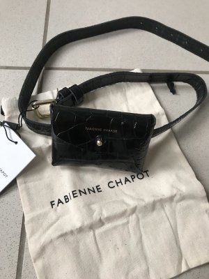 Fabienne Chapot Gürteltasche Tasche Bauchtasche,Leder,neu,schwarz