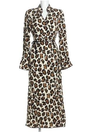 Fabienne Chapot Wikkeljurk luipaardprint casual uitstraling
