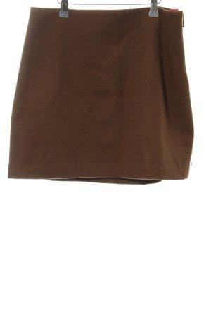 Fabienne Chapot Wollrock braun schlichter Stil