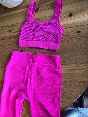 Fabletics Smanicato sport rosa-viola