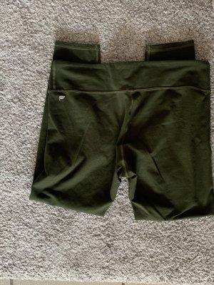 Fabletics Pantalon 3/4 kaki-vert foncé