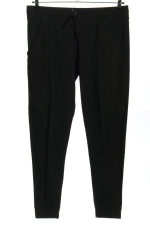Fabletics Pantalón deportivo negro estilo deportivo