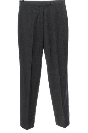 facile Woolen Trousers light grey weave pattern business style