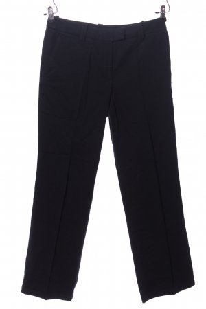 Faconnable Stoffhose schwarz Business-Look