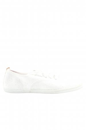 Faded Glory Schnürsneaker weiß Casual-Look
