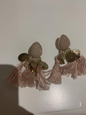 Faden Ohrringe Gold rosé H&M