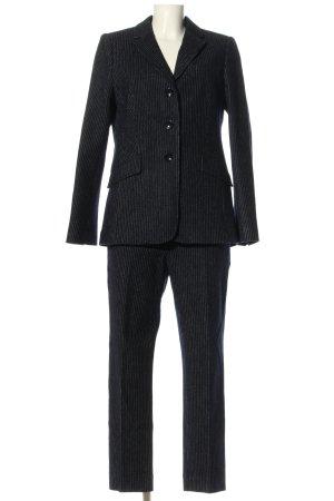 Fadenmeister Berlin Traje de pantalón negro estilo «business»