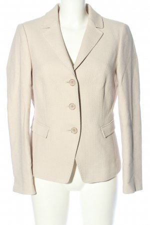 Fadenmeister Berlin Long-Blazer creme Business-Look