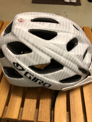 Giro Rain Cap white-black