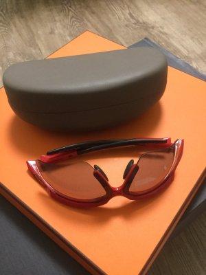 Glasses red-black
