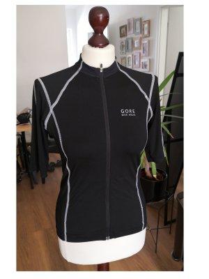 Gore Sports Shirt black-white mixture fibre