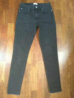 armed angles Skinny Jeans black cotton