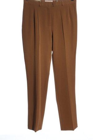 Fair Lady Pantalón de vestir marrón estilo «business»