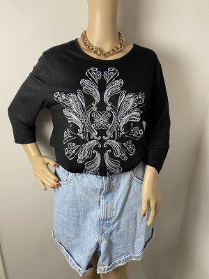 Fair Lady Long Shirt black-white