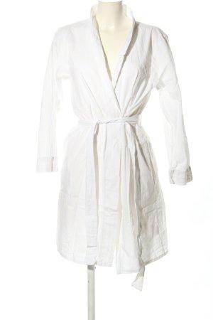 Fairy Dust Kopertowa sukienka biały W stylu casual