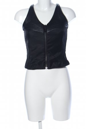Faith connexion Corsagen Top schwarz Casual-Look