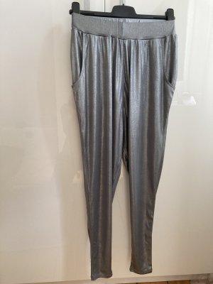 Faith connexion Pantalone alla turca argento Cotone