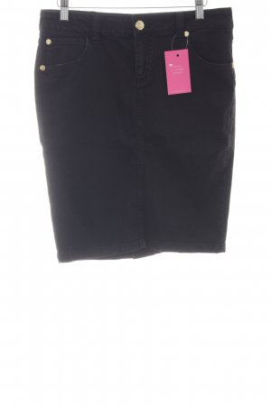 Faith connexion Jeansrock schwarz Casual-Look