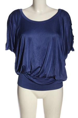 Faith Short Sleeved Blouse blue elegant