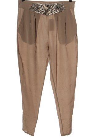 Faith Jersey Pants brown elegant