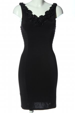 Faith Pinafore dress black elegant
