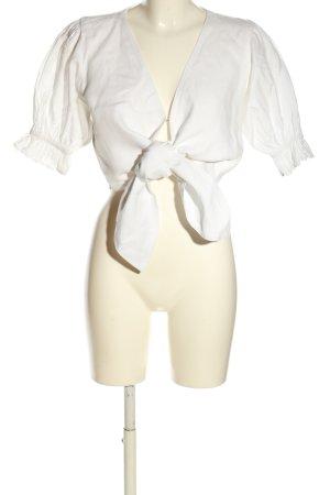 Faithfull the brand Blusa in lino bianco stile casual