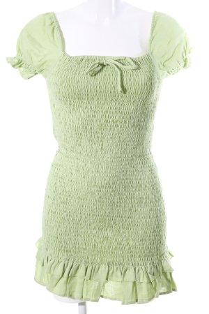 Faithfull the brand Minikleid grün Casual-Look