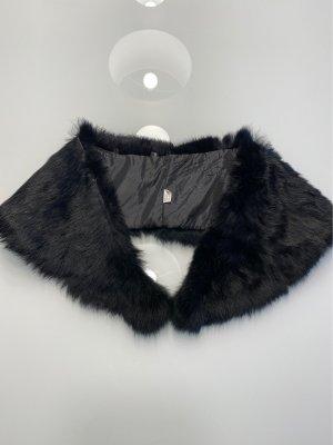 Fake Fur Fellkragen schwarz