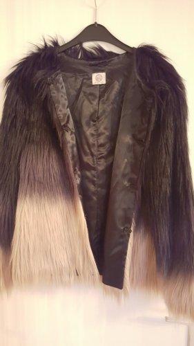 Fake Fur Jacke mit Farbverlauf von C.P. TWENTYNINE in Gr. M