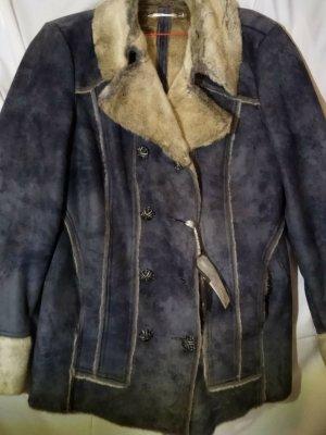 Ddp Giacca in eco pelliccia grigio ardesia Poliestere