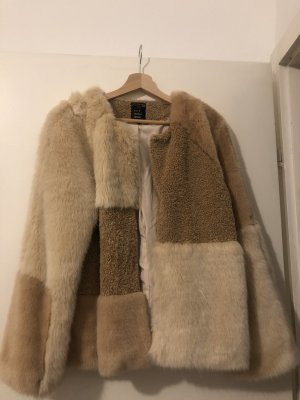 Fake Fur Jacke - Zara