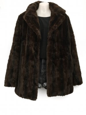 Fake Fur Kuschel Jacke Winter Mantel Webpelz Teddy Oversize Street Style Blogger