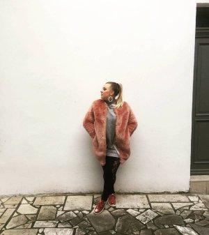 Fake Fur Mantel Amisu 36 Lachsrosa